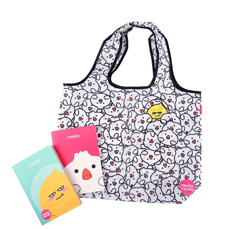 MeituFamily小笼包鸡购物袋